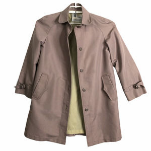 London Fog Womens 6 Lilac Spring Trench Coat